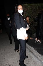 Kehlani Looks stylish as she arrives to Zack Bia's birthday party in Hollywood