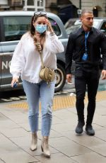 Kelly Brook Out and about in London