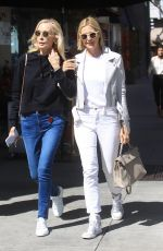 Kelly Rutherford Out in Beverly Hills with her mom