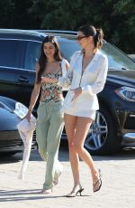 Kendall Jenner At the Soho House in Malibu