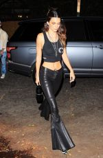 Kendall Jenner Rocks another sexy-looking ensemble ahead of a private event at Chrome Hearts in Los Angeles