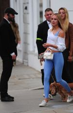 Kimberley Garner Out and about in London