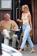 Kimberley Garner Out with a friend in Chelsea, London