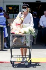 Kimberly Stewart Pictured while out grocery shopping at Bristol Farms in Beverly Hills