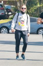 Kristen Bell And Benjamin Levy Aguilar are back at the gym after the extended weekend in Los Angeles