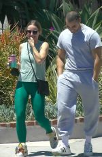 Kristen Bell Spending more time with her gym buddy and co-star Benjamin Levy Aguilar while out in Los Feliz