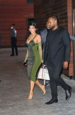 Kylie Jenner Exits the Parsons Benefit in New York