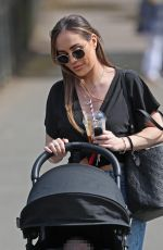 Lauryn Goodman Seen out with son Kairo Walker in Knutsford Park, Cheshire