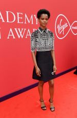 Letitia Wright At Virgin Media British Academy Television Awards 2021 at Television Centre in London