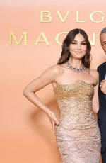 Lily Aldridge Attends Bvlgari Clients Dinner in Milan, Italy