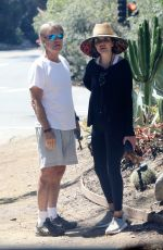 Lisa Rinna And husband Harry Hamlin end their week strong with a couples hike in Beverly Hills