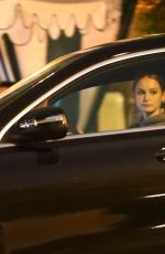 Madelaine Petsch Leaving dinner with a friend at San Vicente Bungalows in West Hollywood