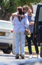 Madison Beer Arrives at a friends home in Los Angeles