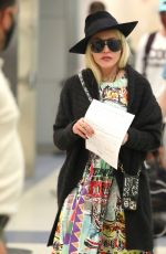 Madonna Was spotted at JFK Airport in New York