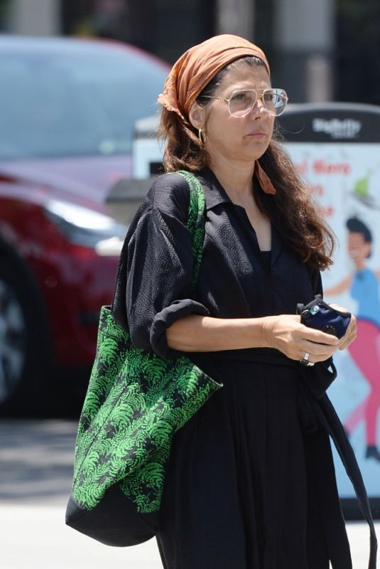 Marisa Tomei Out and About in West Hollywood