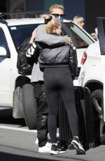 Marloes Stevens Departs Gold Coast Airport down for Adelaide