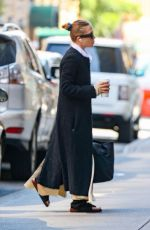 Mary-Kate Olsen Was spotted starting her day in New York