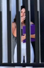 Megan Fox Outside her house in Los Angeles