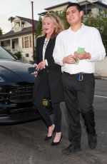 Melanie Griffith Arriving for a quiet evening at the private club