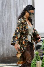 Michelle Rodriguez Spotted on the set of