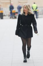 Mollie King At the BBC studios in London