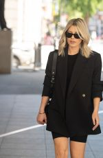 Mollie King Outside the BBC studios in London