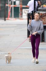 Naomi Watts Steps out for a dog walk in New York