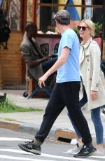Nicky Hilton Waits on the street with her husband to pick up their daughter in New York
