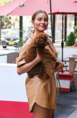 Olivia Culpo Seen out and about in New York City