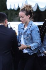 Olivia Wilde Leaving car with valet in West Hollywood