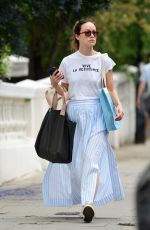 Olivia Wilde Out and about in London