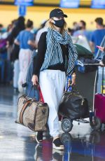 Olivia Wilde Spotted Departing JFK Airport in New York City