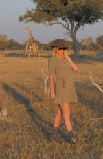 Paris Hilton and Carter Reum vacation in South Africa