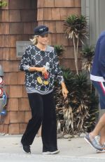 Paris Hilton In Gucci spending quality time with fiance Carter Reum in Malibu