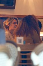 Paris Jackson Looks boho chic as she enjoyed a low-key dinner with a friend at the french restaurant Le Petit Four