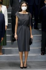 Queen Letizia of Spain Attends a working meeting of the Board of Trustees of the (FAD) Foundation for Help Against Drug Addiction