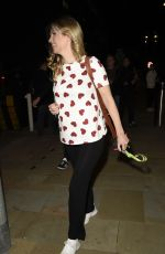 Rachel Riley Seen leaving the TV studios at Media City in Salford after filming for 8 Out Of 10 Cats