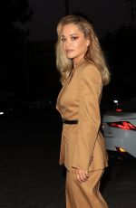Rita Ora Stuns as she heads to a meeting at Craig's in West Hollywood