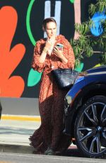 Rumer Willis Out running errands in West Hollywood
