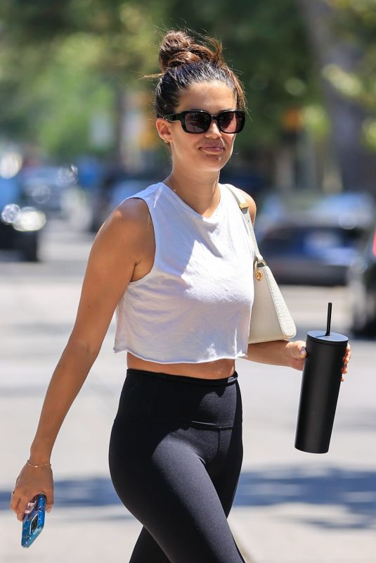 Sara Sampaio At a workout in West Hollywood