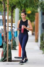 Sara Sampaio Shows off her insanely toned body after Pilates in West Hollywood