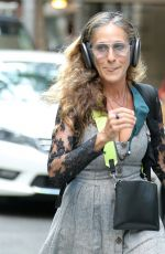 Sarah Jessica Parker Outside her store in New York