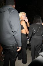 Saweetie (Diamonté Harper) Shows off her curvy figure as she steps out to a party at the Highlight Room in Los Angeles