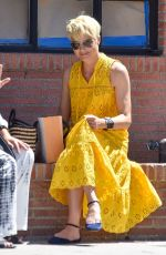 Selma Blair Reveals hair transformation while out for a coffee run in Studio City