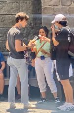 Shawn Mendes and Camila Cabello out enjoying a day at Universal Studios