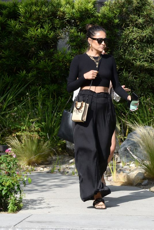 Shay Mitchell Having a girls day out with friends at Messhall Kitchen in Los Angeles