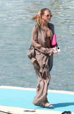 Sofia Richie Laps up the Greek sunshine out on her holidays in Mykonos