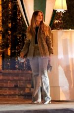 Sofia Richie Looks great as she steps out for dinner at the San Vicente Bungalows in West Hollywood