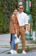 Sophia Bush Heads out for a date night with Grant Hughes in New York