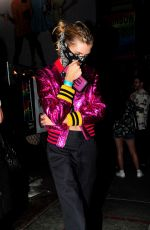 Stella Maxwell and Georgia May Jagger party at the Rainbow Bar and Grill in West Hollywood